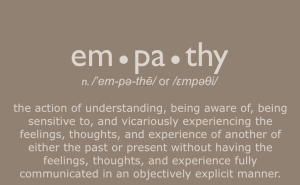 Definition of Empathy